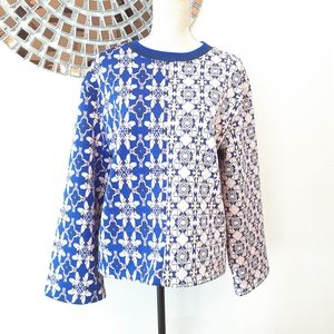 Women H&M oversized structured sweater Size M